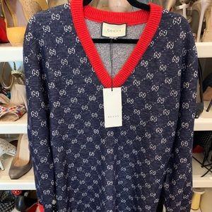 Gucci Wool & Alpaca-Blend Sweater XS